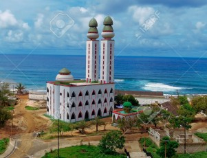The Mosque of Divinity in Dakar, Senegal